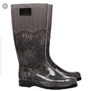 AUTH Valentino rain boots